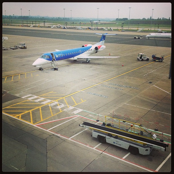 BMI Regional plane