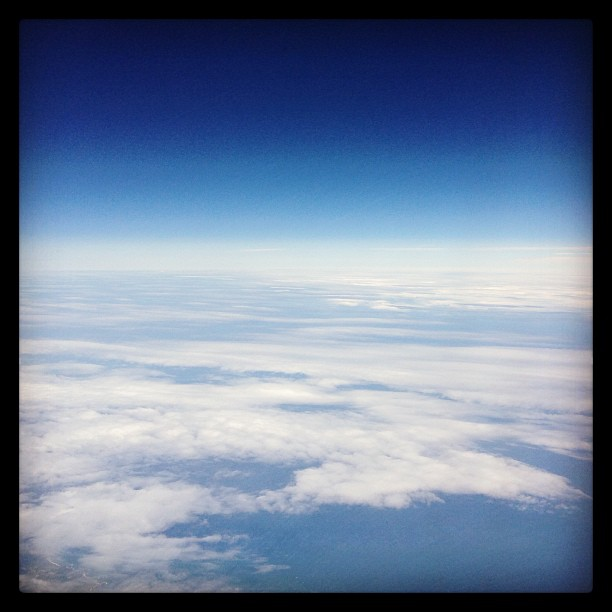 View from the sky.
