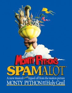 win tickets to see spamalot, win, competition,