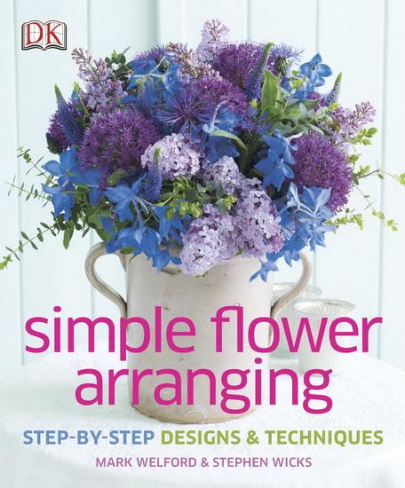 Simple flower arranging step by designs techniques