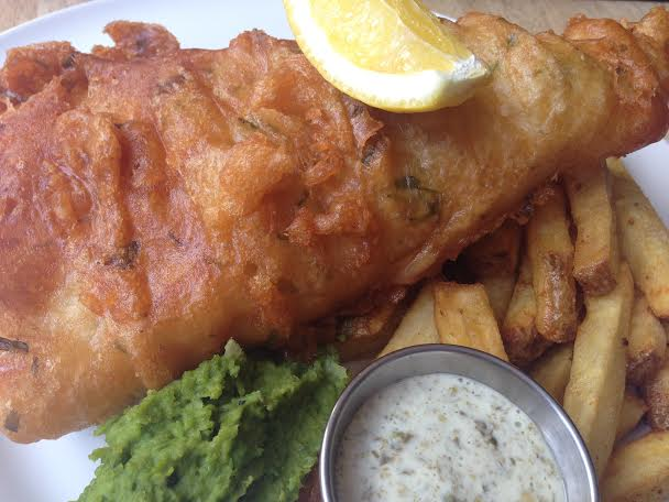 The crown anchor restaurant review frost magazine for Anchor fish and chips