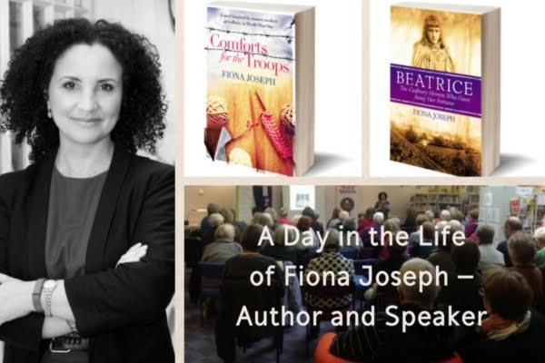 A day in the life of Fiona Joseph (Author and Speaker)1