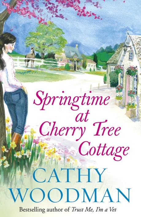 Springtime at Cherry Tree Cottage Cathy Woodman