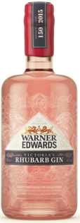 Warner Edward's Victoria's Rhubarb Gin Review & Cocktail Recipe