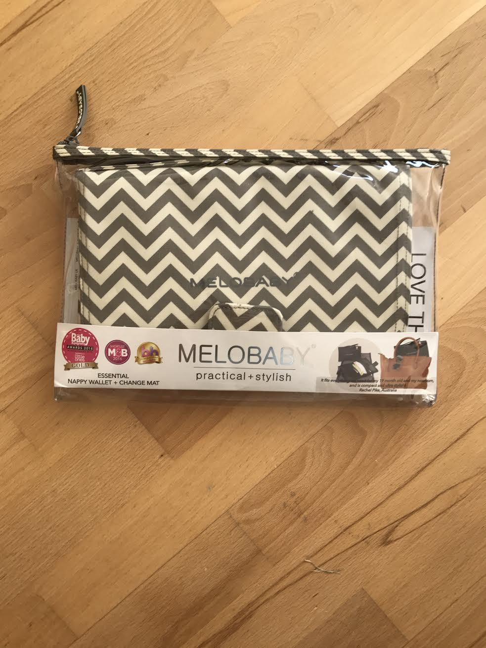 Melobaby Deluxe Nappy Wallet And Change Mat Review 187 Frost