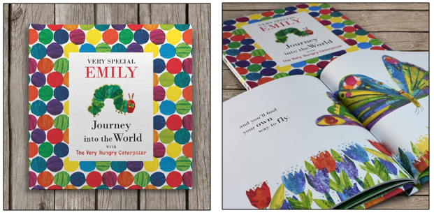 Easter gift idea for little ones gifts hubs personalised books gifts hub launches new personalised journey into the world with the very hungry caterpillar negle Choice Image