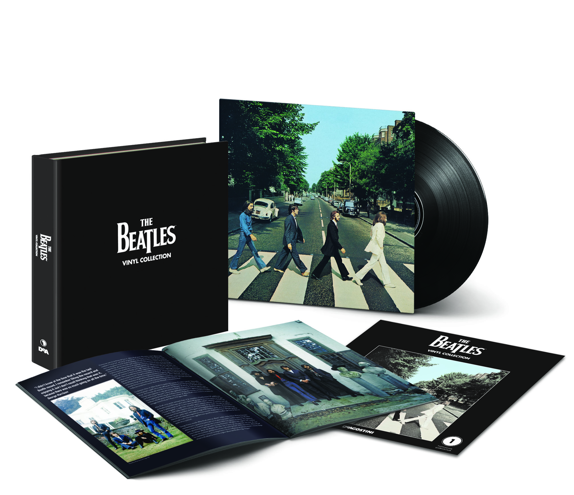 New Collection Of The Beatles Albums On Vinyl Lps