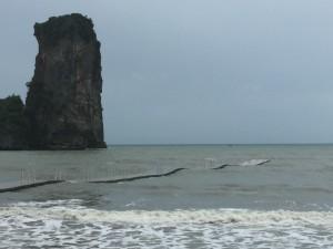 pic 3A. rough sea