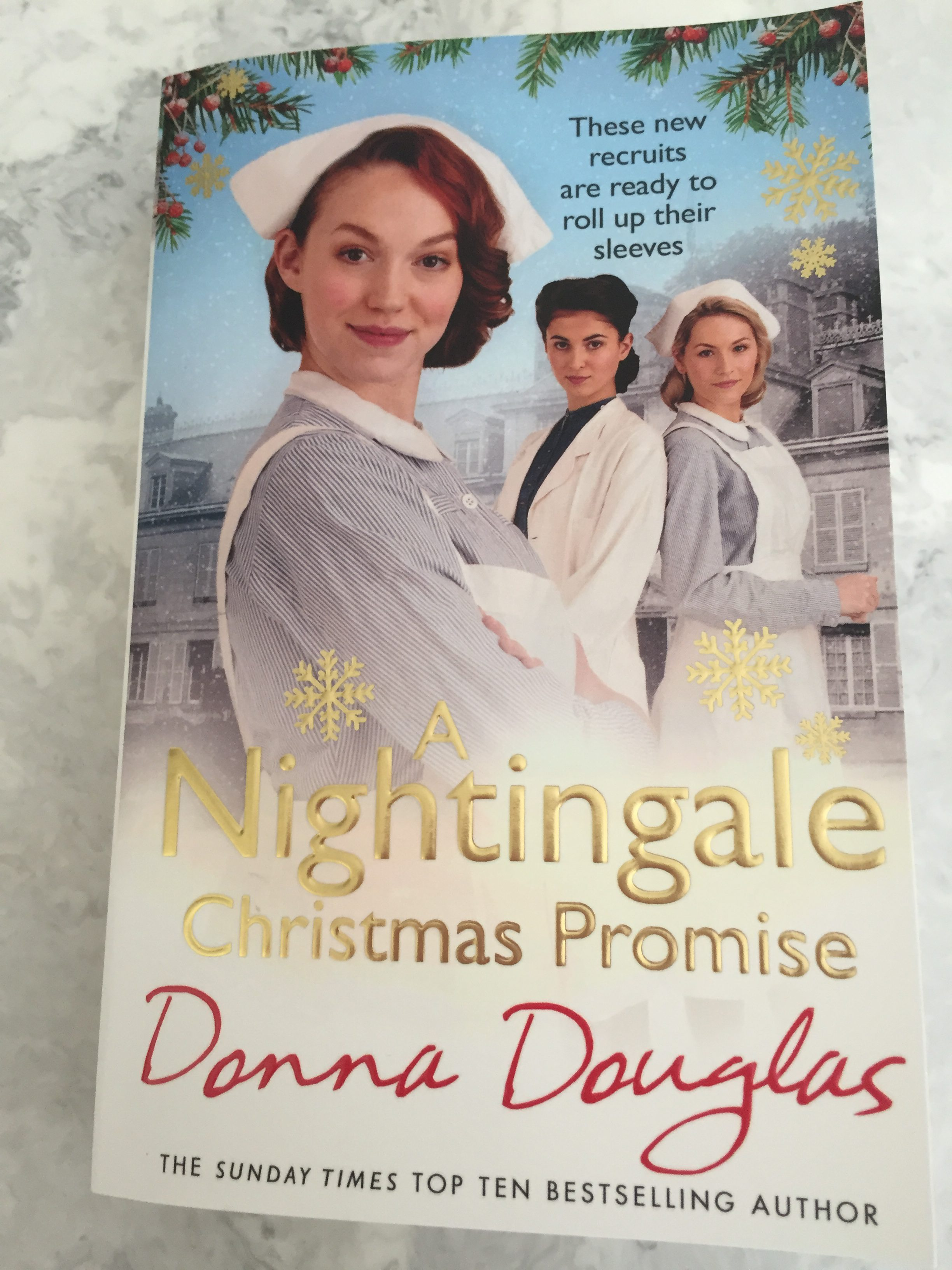 The Christmas Promise Book.A Nightingale Christmas Promise By Donna Douglas Frost